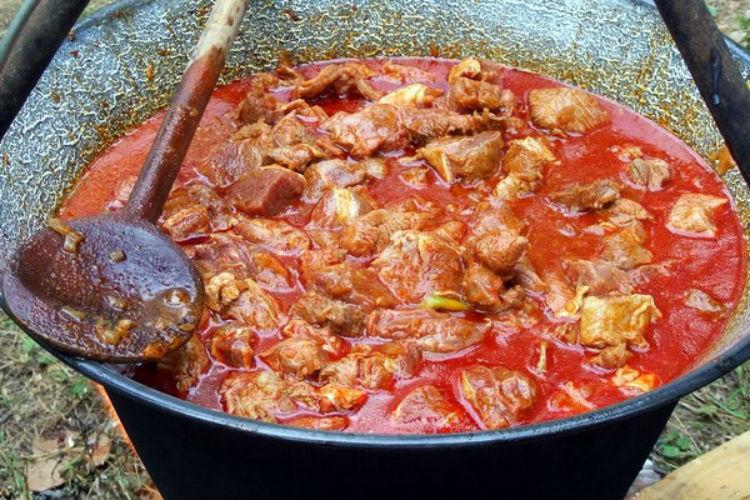 Бограч с фасолью рецепт с фото